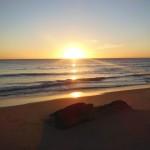 coucher de soleil océan